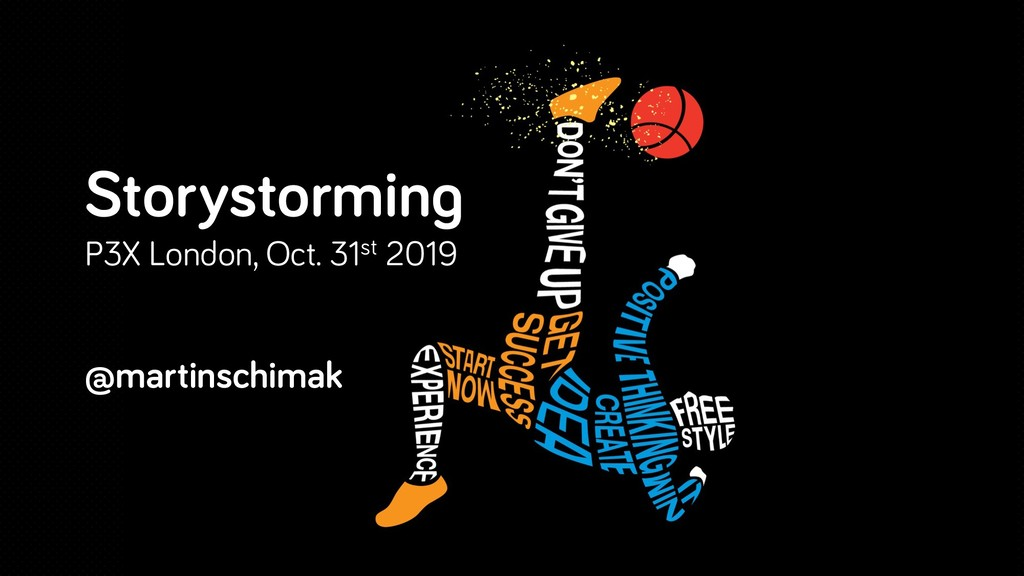 Storystorming P3X London, Oct. 31st 2019 @marti...