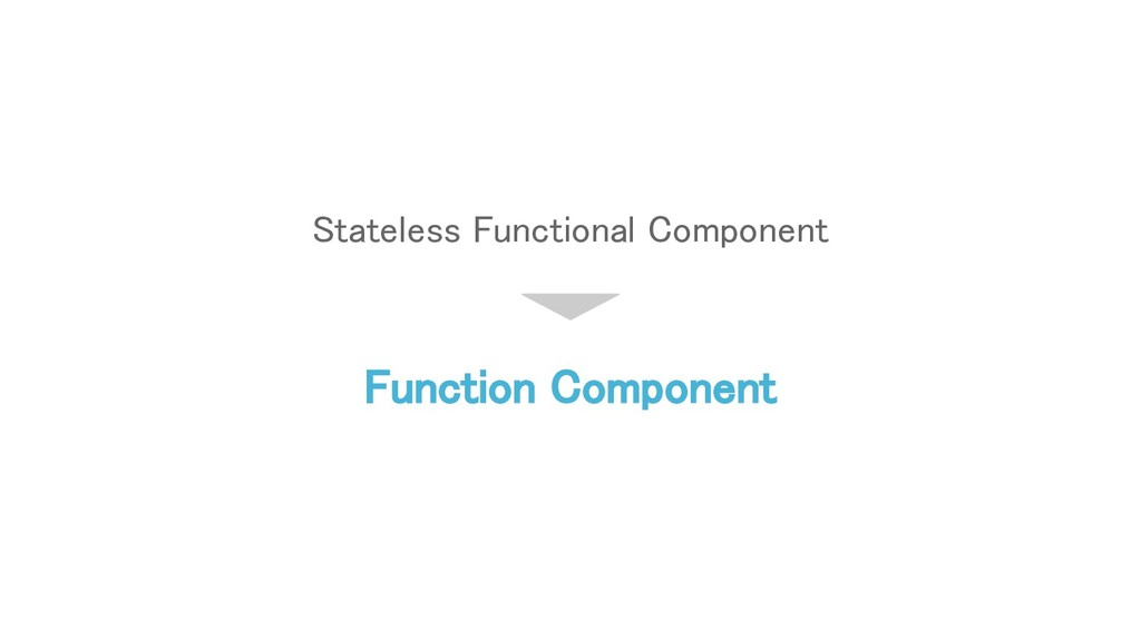Stateless Functional Component Function Compone...