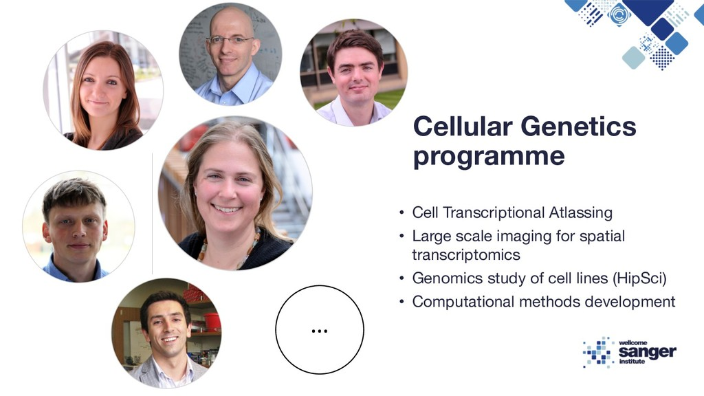 • Cell Transcriptional Atlassing • Large scale ...
