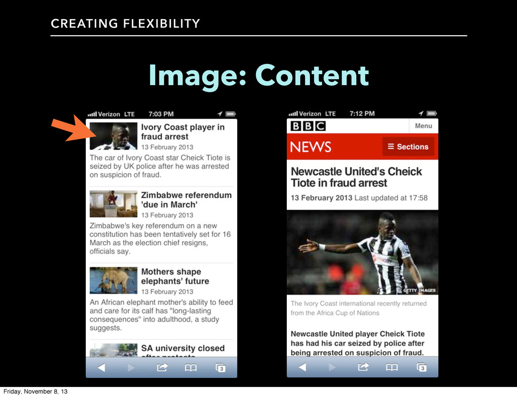 CREATING FLEXIBILITY Image: Content Friday, Nov...
