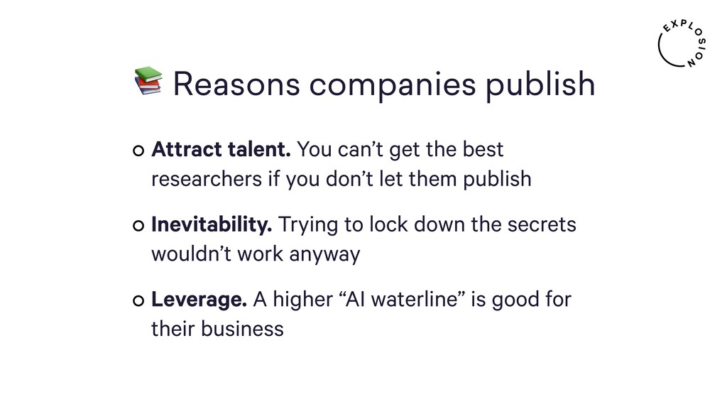 Reasons companies publish Attract talent. You ...