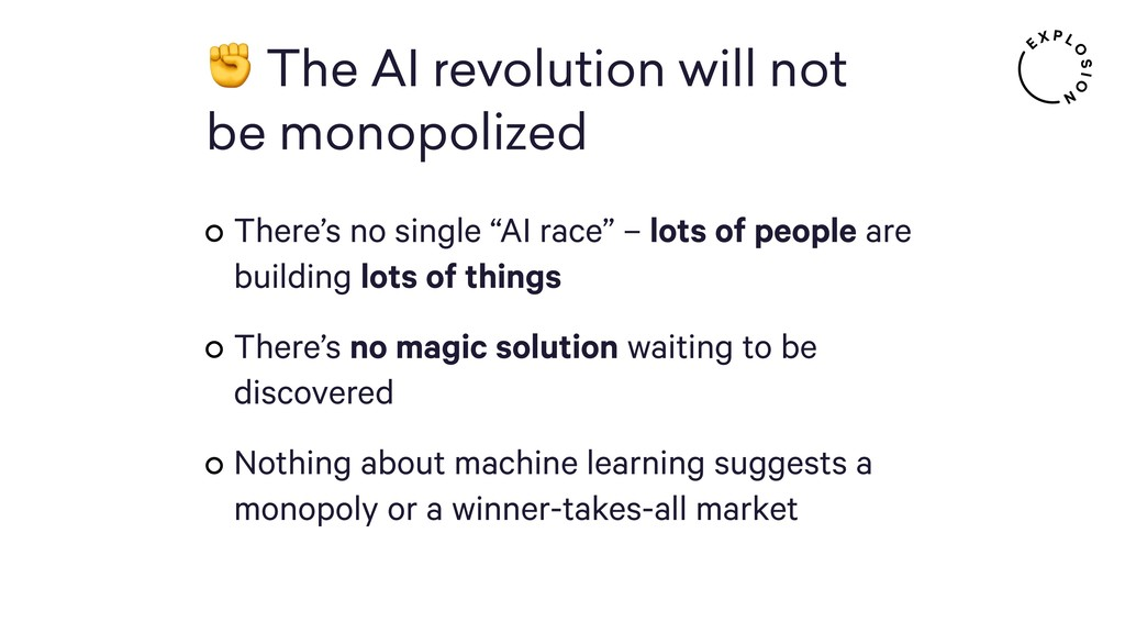 ✊ The AI revolution will not 