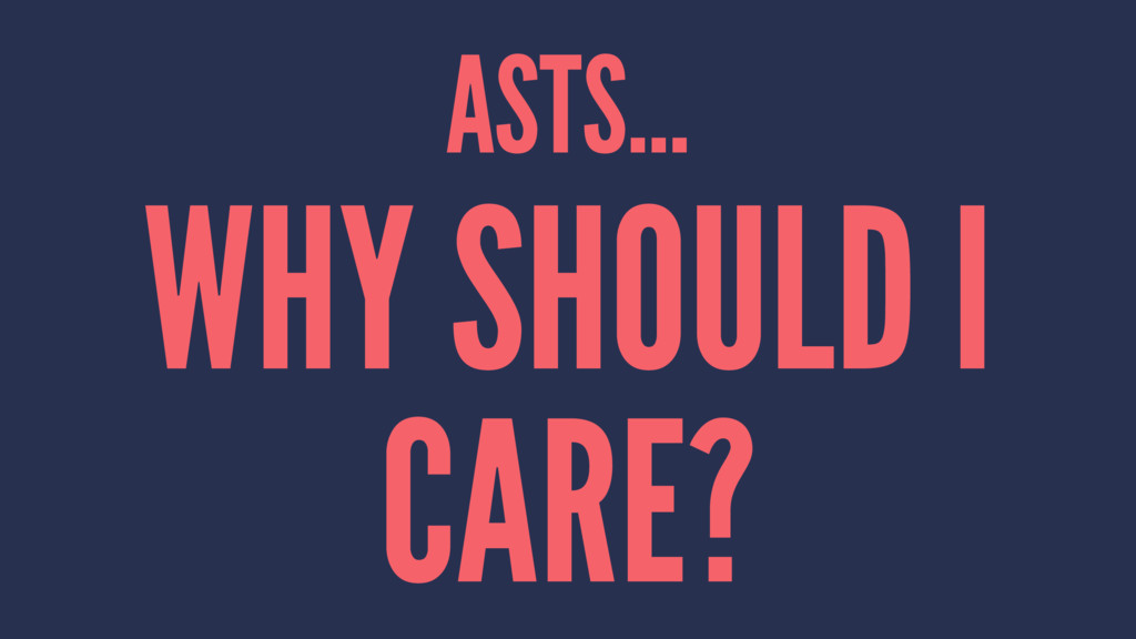 ASTS... WHY SHOULD I CARE?