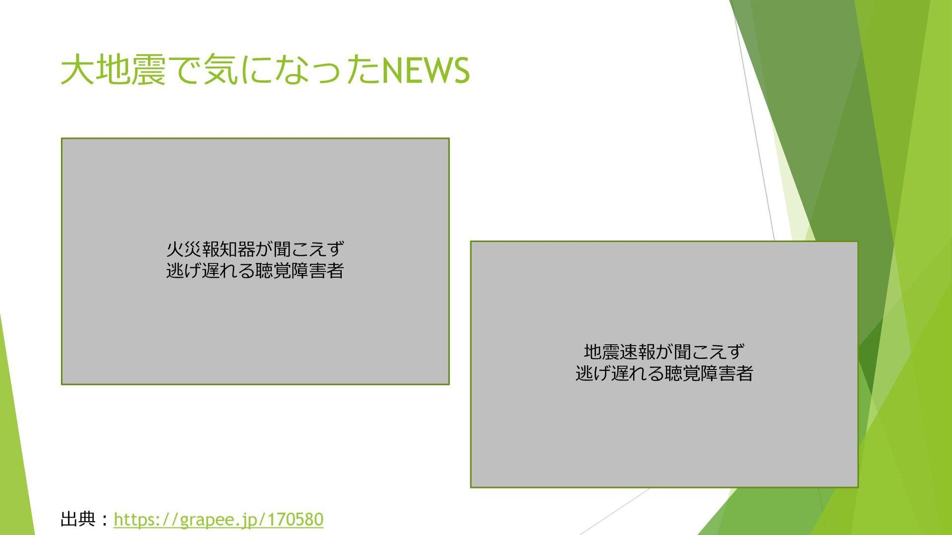 大地震で気になったNEWS 出典:https://grapee.jp/170580 火災報知器...
