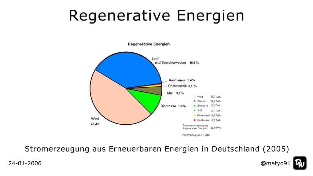 24-01-2006 @matyo91 Regenerative Energien Strom...