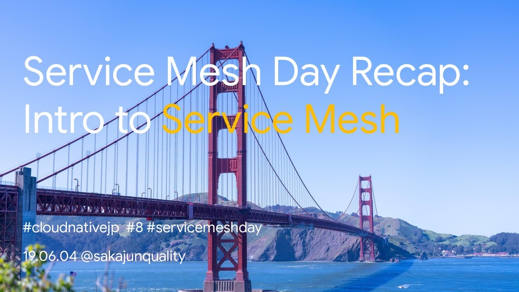 Service Mesh Day Recap: Intro to Service Mesh #...
