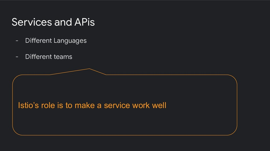 Services and APis - Different Languages - Diffe...