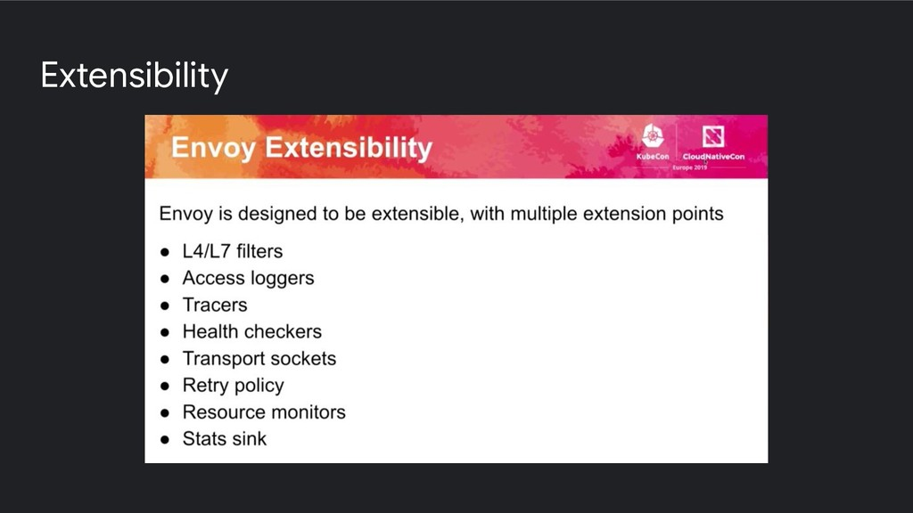 Extensibility