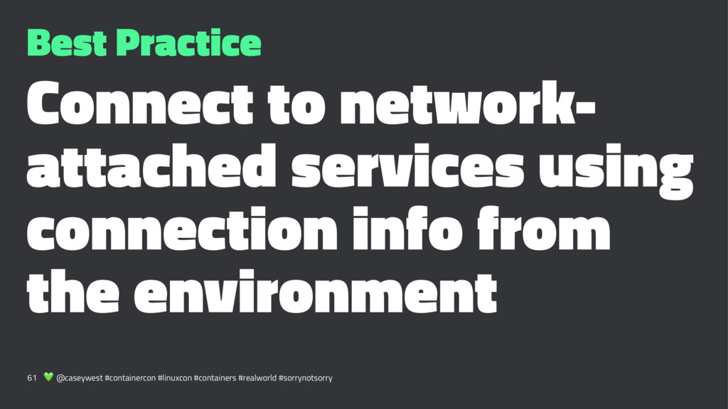 Best Practice Connect to network- attached serv...