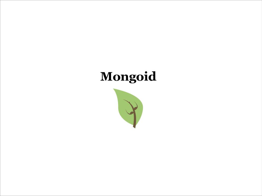 Mongoid