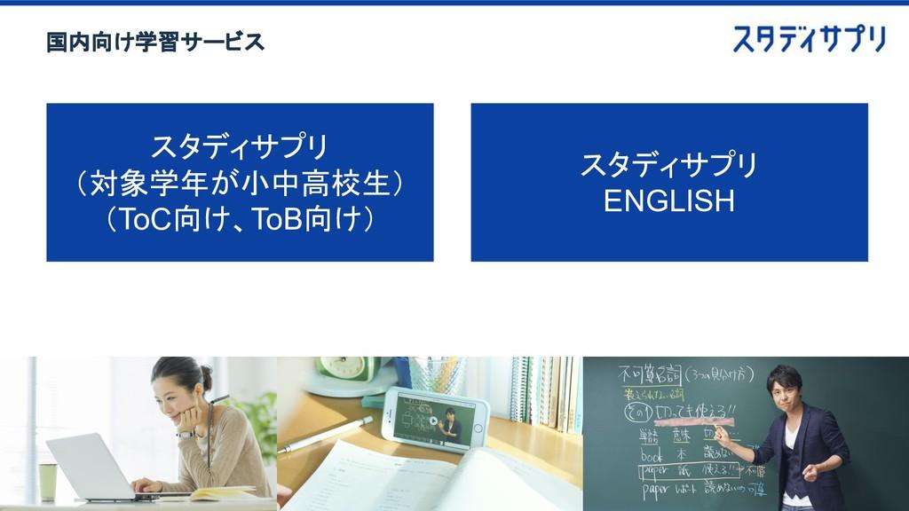 スタディサプリ (対象学年が小中高校生) (ToC向け、ToB向け) スタディサプリ ENGL...