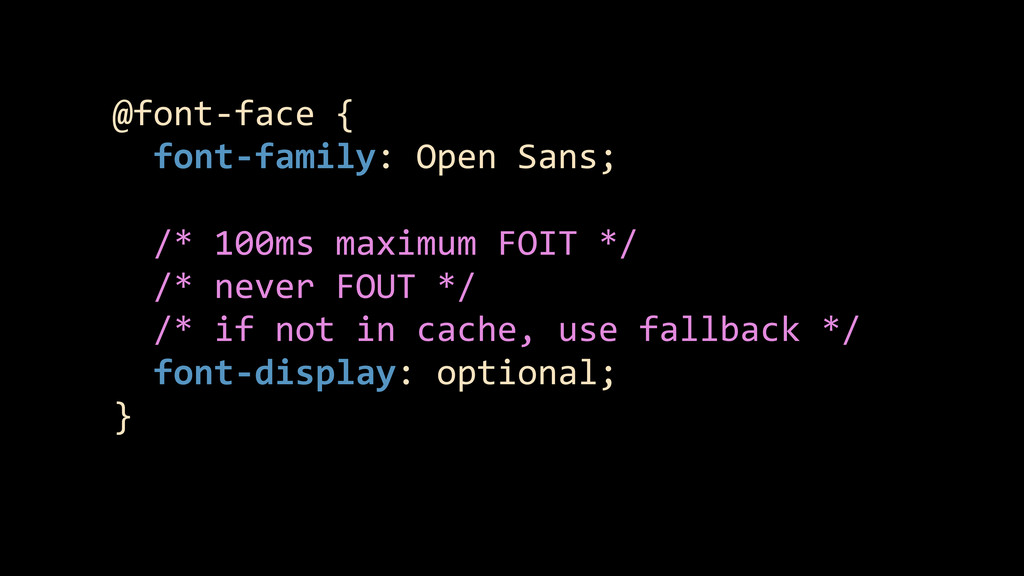 @font-‐face {    font-‐family: ...