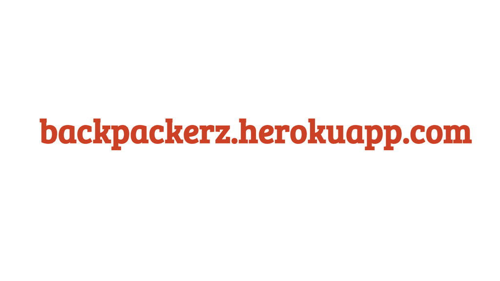 backpackerz.herokuapp.com