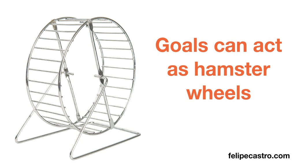 felipecastro.com Goals can act as hamster wheels