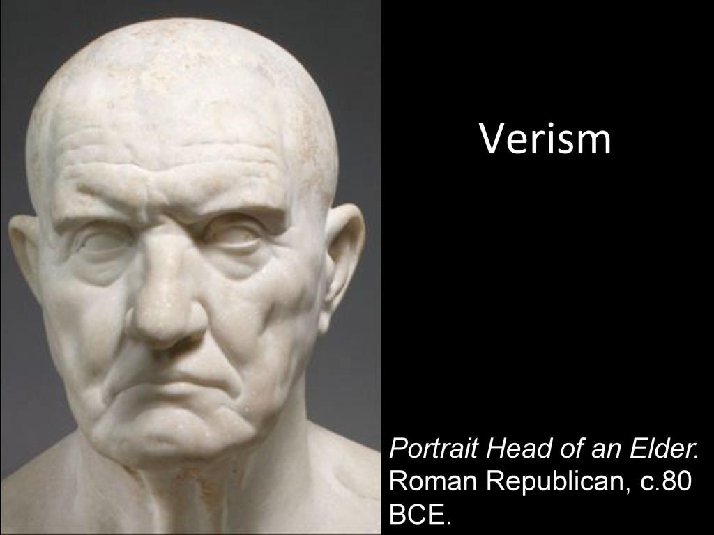Portrait Head of an Elder. Roman Republican, c....