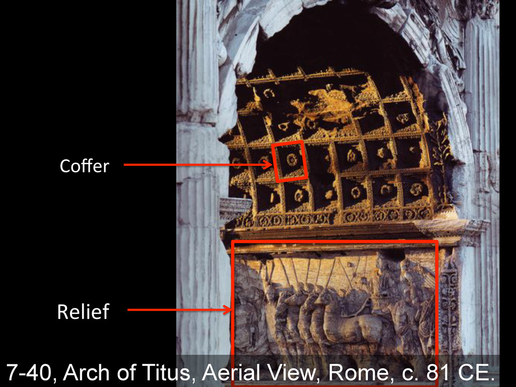 """!+/0+:& G""""k+(& 7-40, Arch of Titus, Aerial View..."""