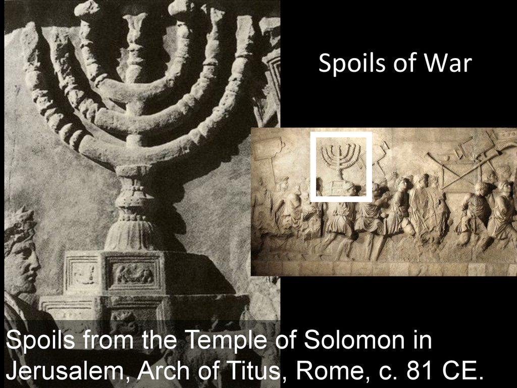 """[,""""0/=&"""":&\$(& Spoils from the Temple of Solomo..."""
