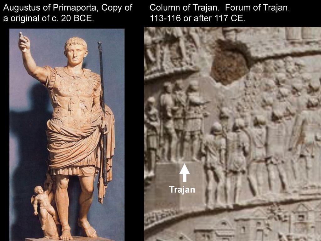 Column of Trajan. Forum of Trajan. 113-116 or a...