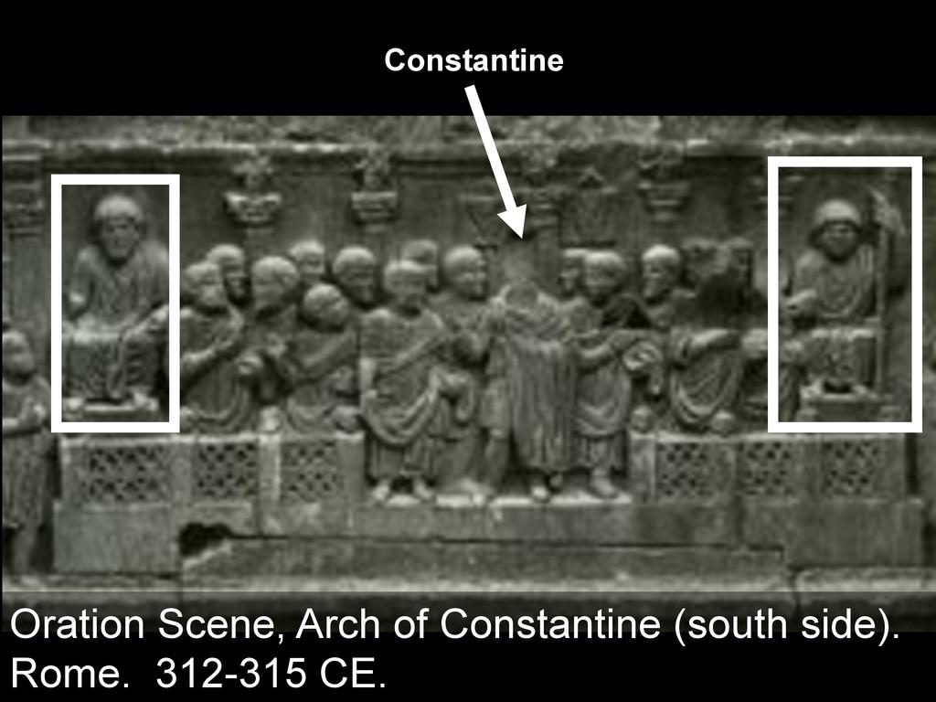 Constantine Oration Scene, Arch of Constantine ...