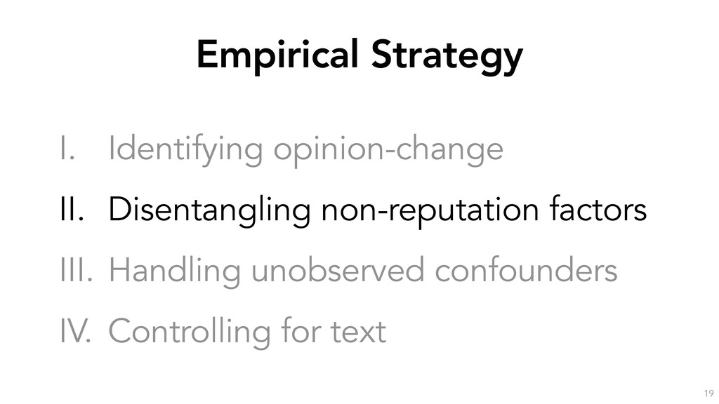 Empirical Strategy 19 I. Identifying opinion-ch...