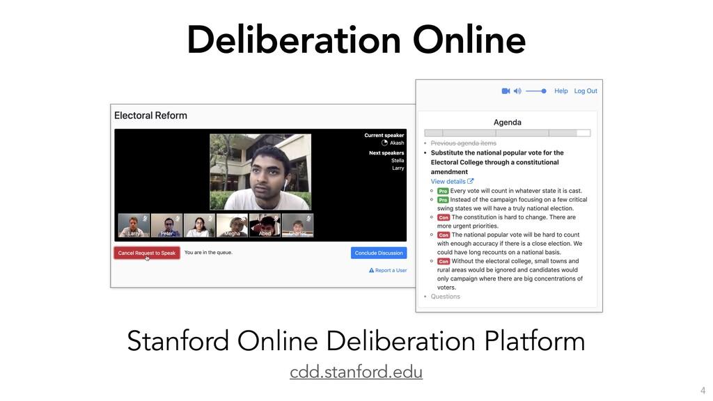 cdd.stanford.edu Stanford Online Deliberation P...