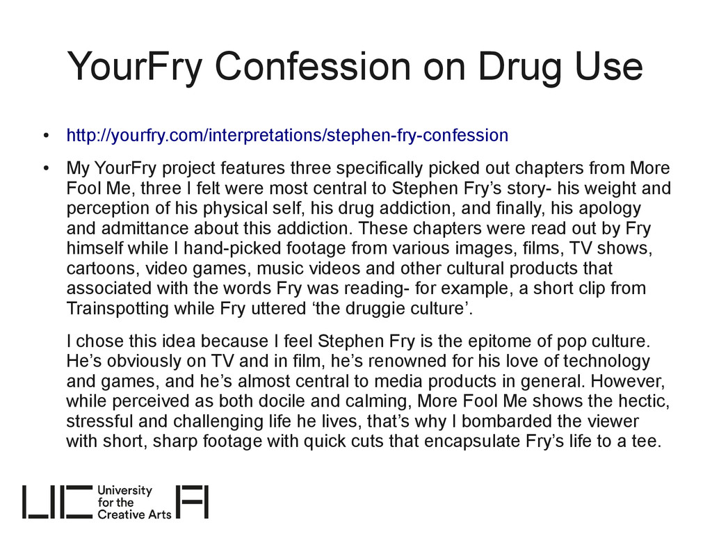 YourFry Confession on Drug Use ● http://yourfry...