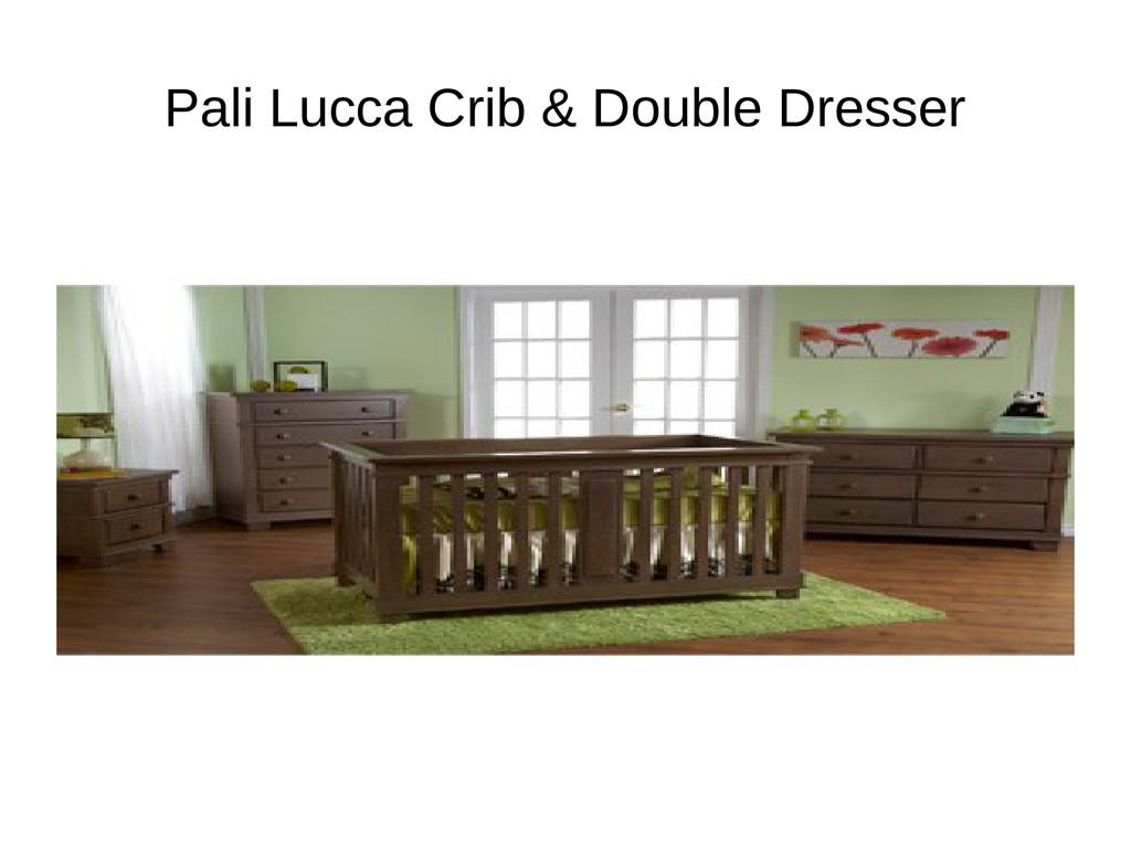 Pali Lucca Crib & Double Dresser