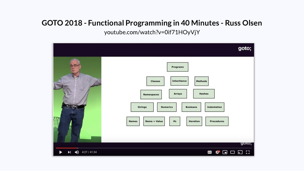 GOTO 2018 - Functional Programming in 40 Minute...