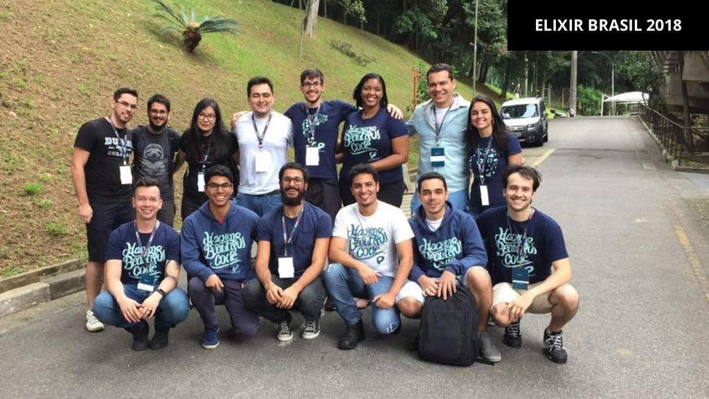 ELIXIR BRASIL 2018