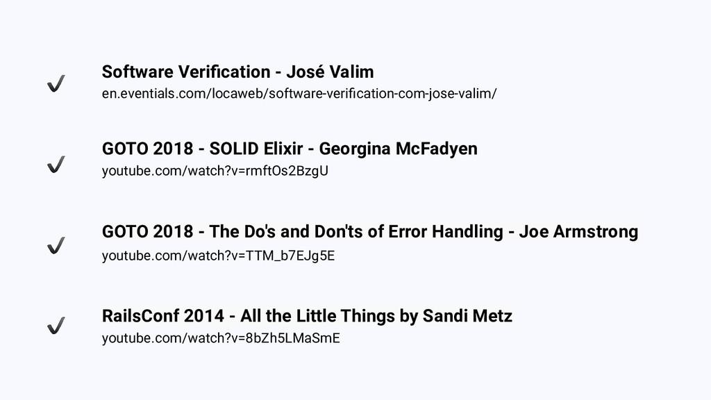 Software Verification - José Valim en.eventials....