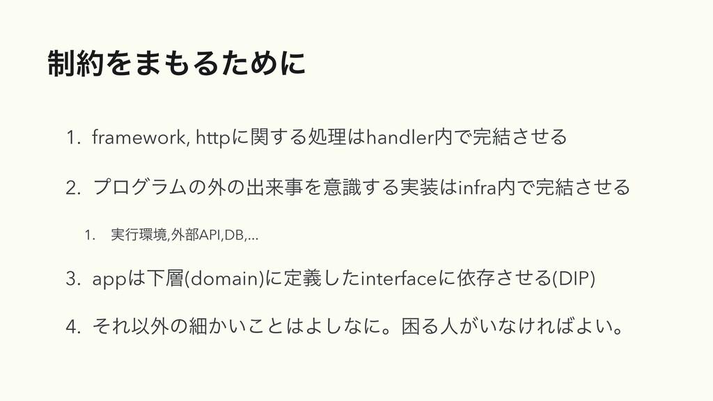 ੍Λ·ΔͨΊʹ 1. framework, httpʹؔ͢ΔॲཧhandlerͰ݁͞...