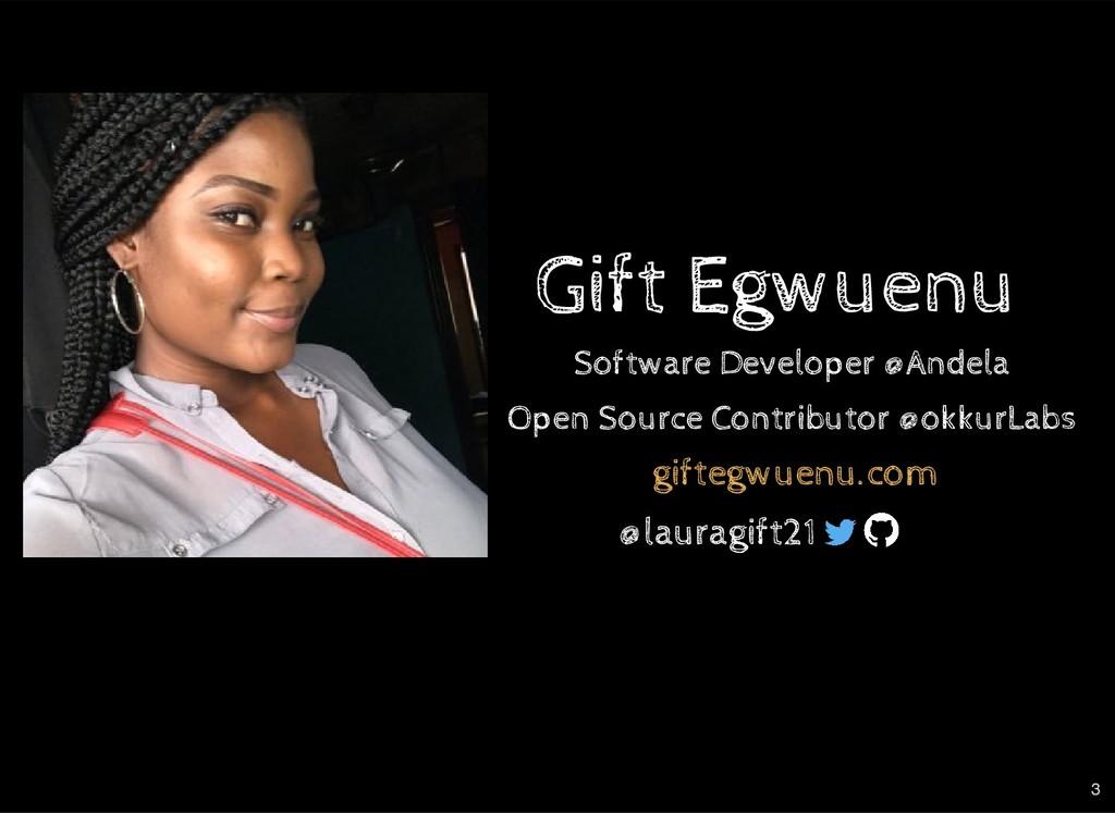 Gift Egwuenu Gift Egwuenu giftegwuenu.com Softw...
