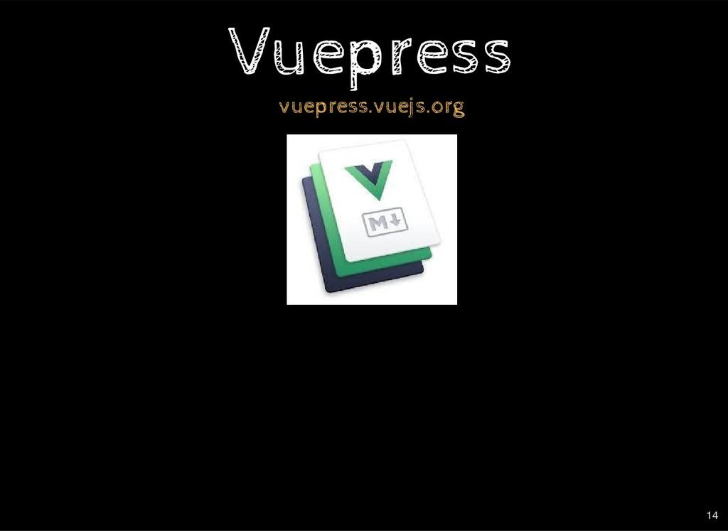 Vuepress Vuepress vuepress.vuejs.org 14