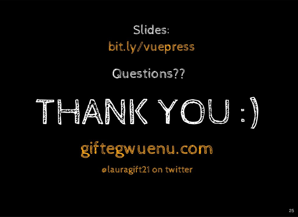 THANK THANK Y YOU :) OU :) on twitter giftegwue...