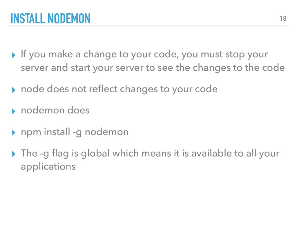 ▸ If you make a change to your code, you must s...