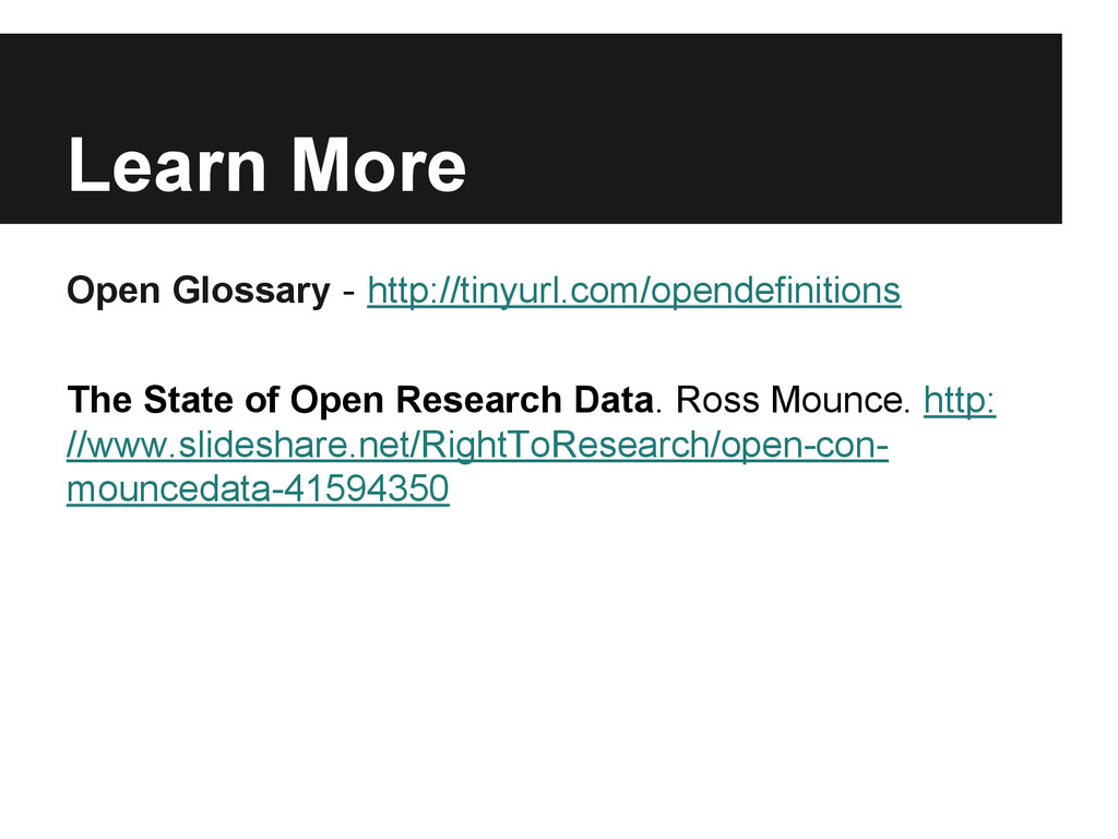Learn More Open Glossary - http://tinyurl.com/o...
