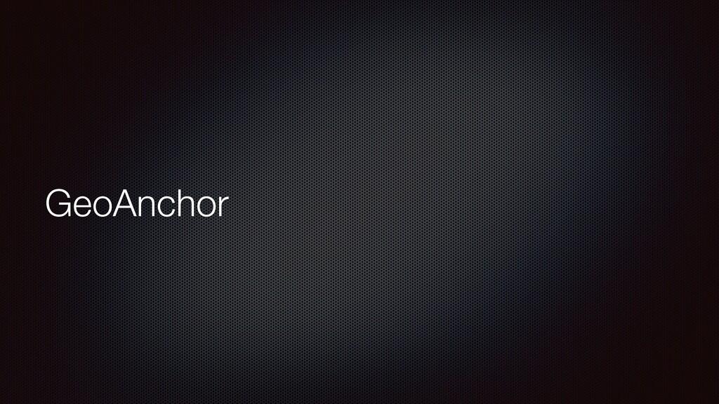 GeoAnchor