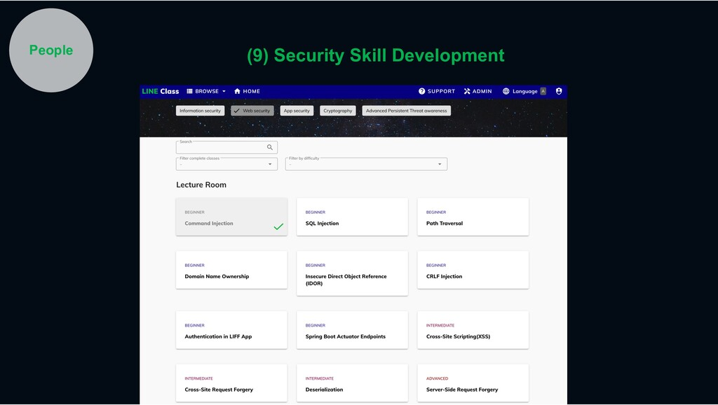 People (9) Security Skill Development
