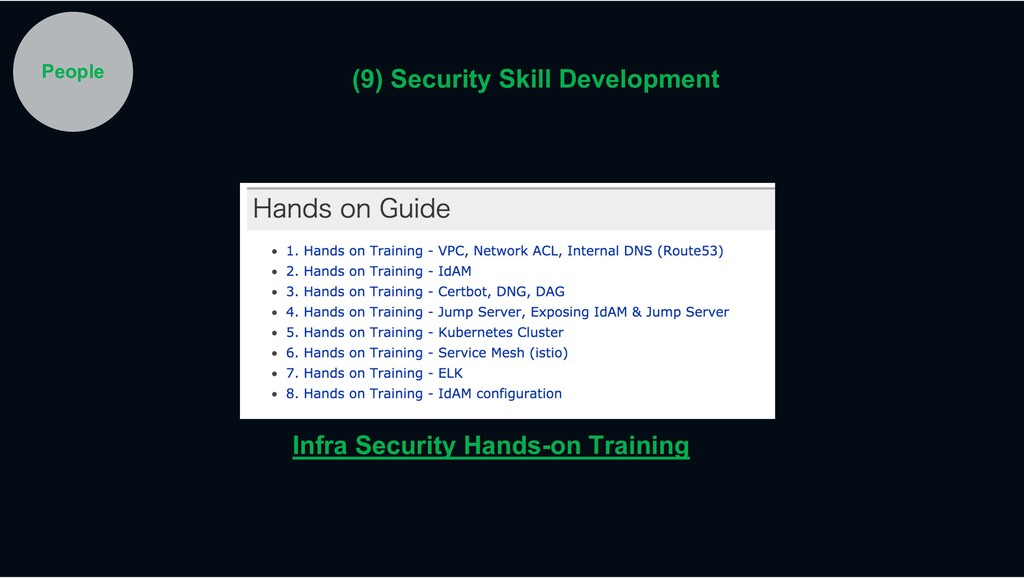 Infra Security Hands-on Training People (9) Sec...