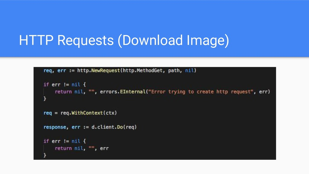 HTTP Requests (Download Image)