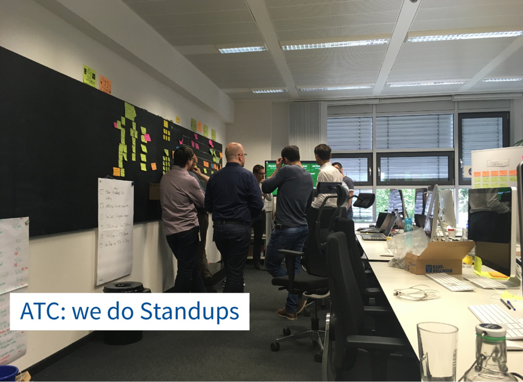 ATC: we do Standups