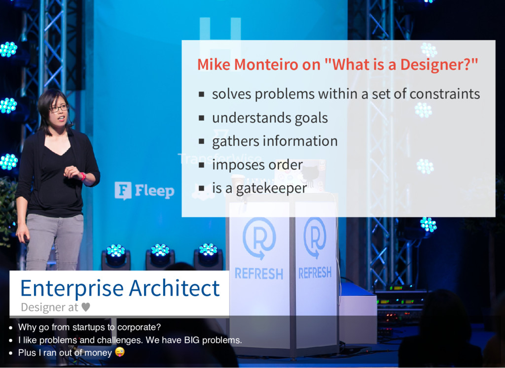 "Mike Monteiro on ""What is a Designer?"" solves p..."