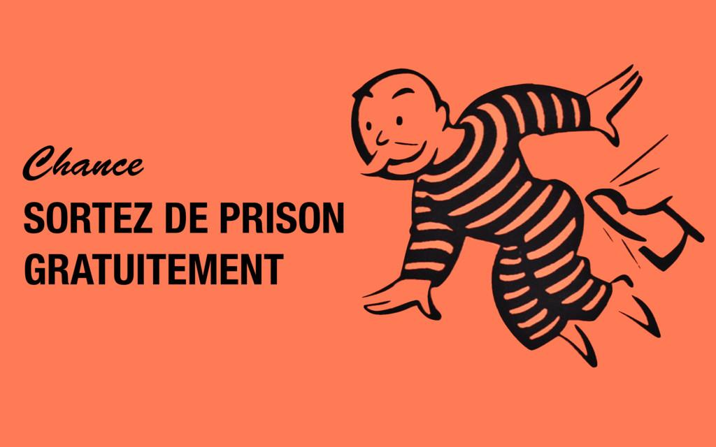 Chance SORTEZ DE PRISON GRATUITEMENT