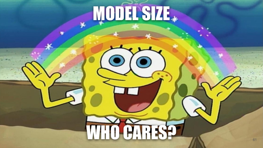 WHO CARES? MODEL SIZE 61