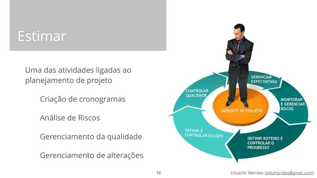 Eduardo Mendes (edumendes@gmail.com) Estimar Um...