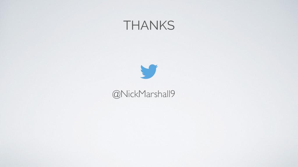 THANKS @NickMarshall9