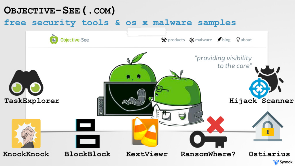 free security tools & os x malware samples OBJE...