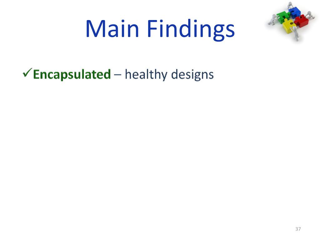 Main Findings 37