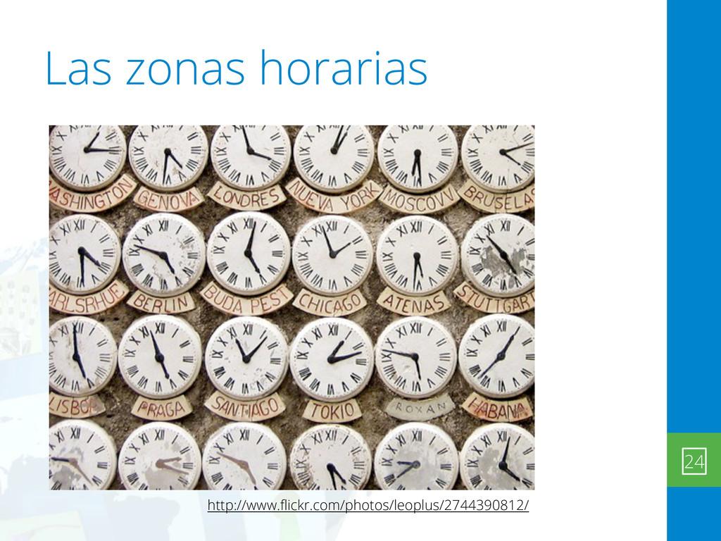 Las zonas horarias 24 http://www.flickr.com/phot...
