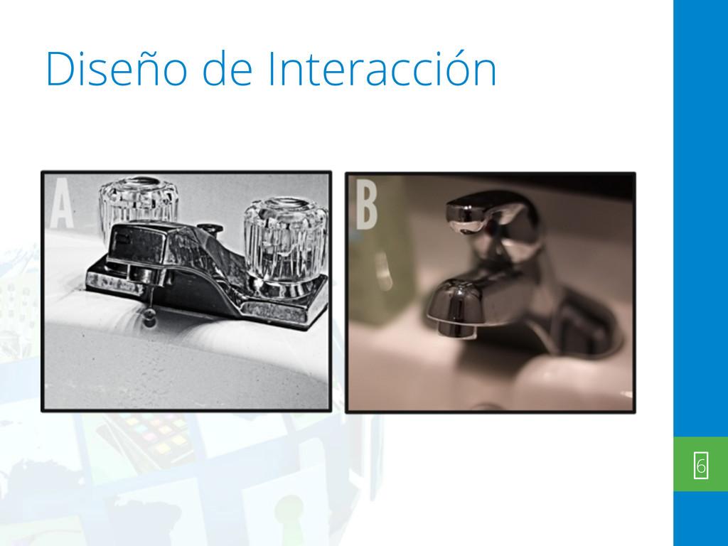 Diseño de Interacción 6